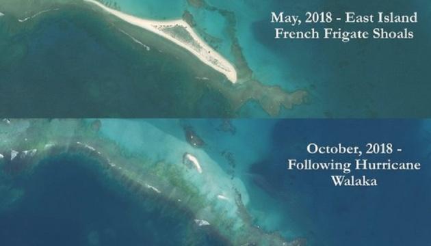 """На Гаваях """"зник"""" кораловий острів"""
