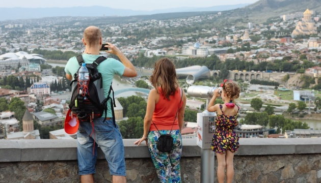 Tourist flow from Ukraine to Georgia growing