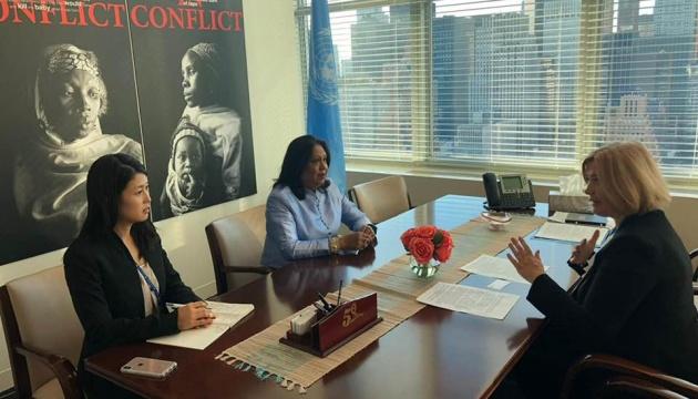 Секснасильство у конфліктах: Геращенко запросила в Україну спецпредставника ООН