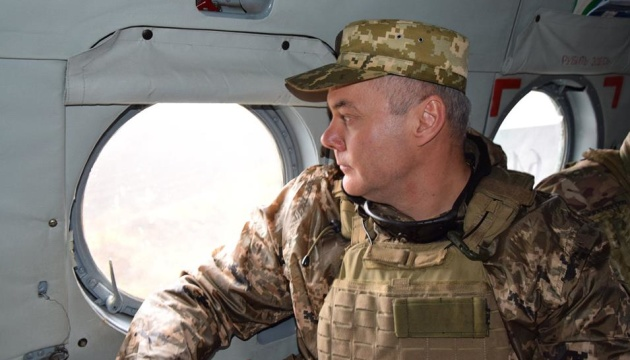 Joint Forces commander checks readiness of units for combat operations