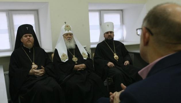 Филарет пояснил механизм перехода приходов в объединенную УПЦ
