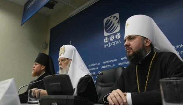 Alle Lawras gewaltfrei an ukrainische Kirche - Filaret