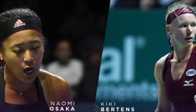 Бертенс вышла в полуфинал Итогового турнира WTA в Сингапуре