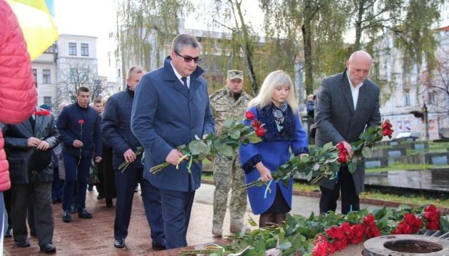 У Вінниці вшанували пам'ять визволителів України