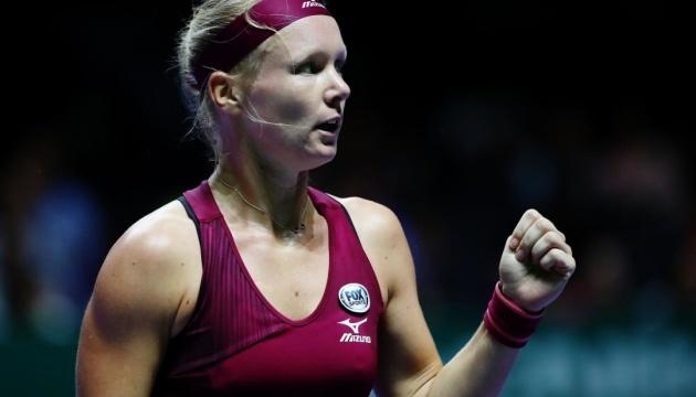 Бертенс стала суперницею Світоліної у півфіналі Підсумкового турніру WTA