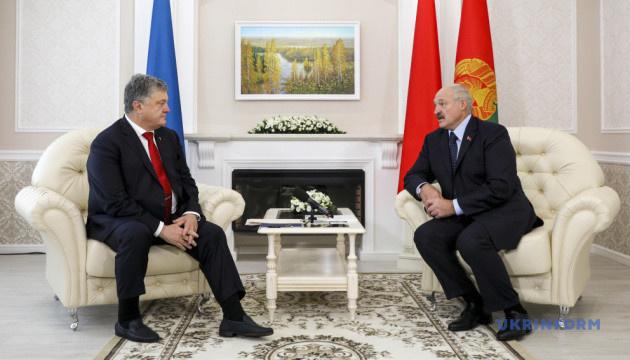 Порошенко и Лукашенко провели встречу