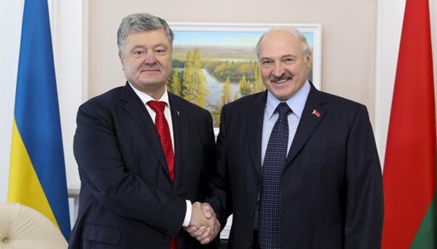 Poroschenko kündigt Start der Arbeit ukrainischen Fernsehsenders in Belarus an