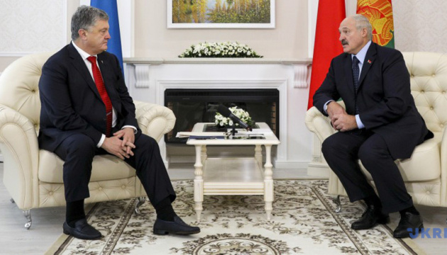 Ukrainian, Belarusian presidents meet in Gomel