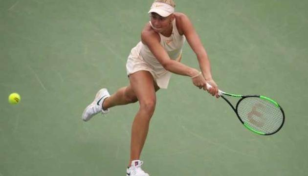 Теніс: 15-тирічна українка Дар'я Лопатецька уперше досягла півфіналу 60-тисячника ITF
