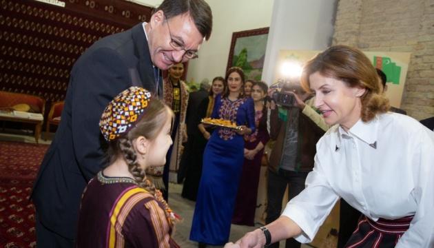 Марина Порошенко стала почётной гостей Outlook World Culture Festival