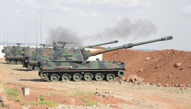 Армия Турции обстреляла курдов из артиллерии на
