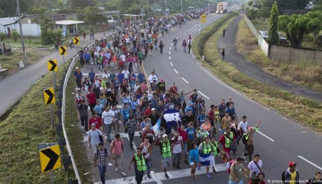 Перша частина каравану мігрантів вже у Мехіко