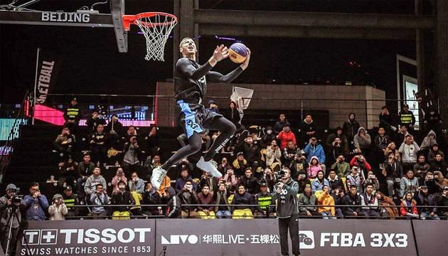 Баскетбол 3х3: украинский данкер Пиддубченко выиграл финальный этап World Tour
