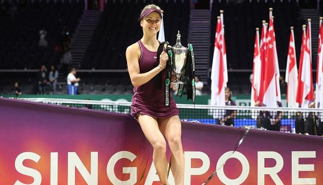 Свитолина поднялась на 4 место в рейтинге WTA после победы в Сингапуре