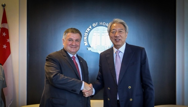 Arsen Avakov, Teo Chee Hean agree on cooperation between cyber police of Ukraine and Singapore