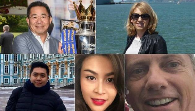 Названы имена всех погибших вместе с владельцем футбольного клуба