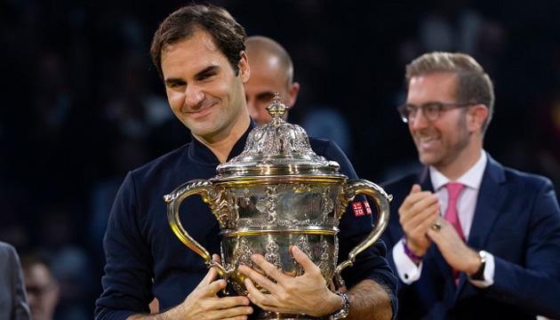 Швейцарский теннисист Роджер Федерер выиграл 99-й титул в карьере
