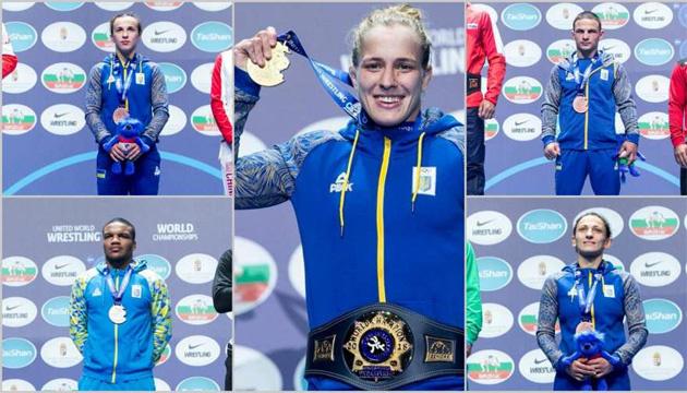 Борьба: женская сборная Украины заняла 6 место в общем зачете ЧМ-2018, мужская - 10-е