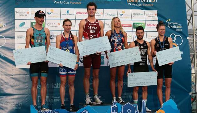 Триатлон: украинка Елистратова четвертый раз выиграла общий зачет Кубка Европы