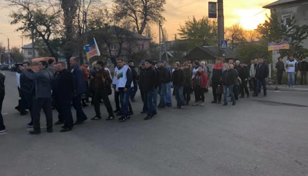 Підземний протест: шахтарі перекрили дорогу в Лисичанську