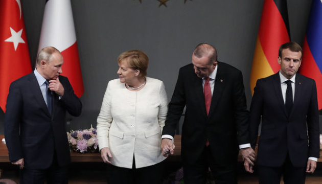 Саммит в Стамбуле: ни одной из своих проблем Путин не решил