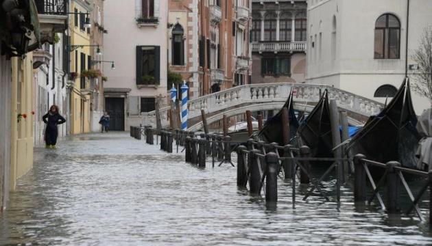 Около 75% территории Венеции затопило из-за шторма