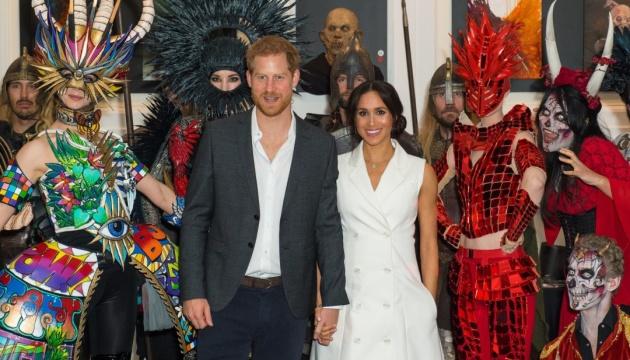 Принц Гаррі і Меган Маркл зустрілися із зомбі