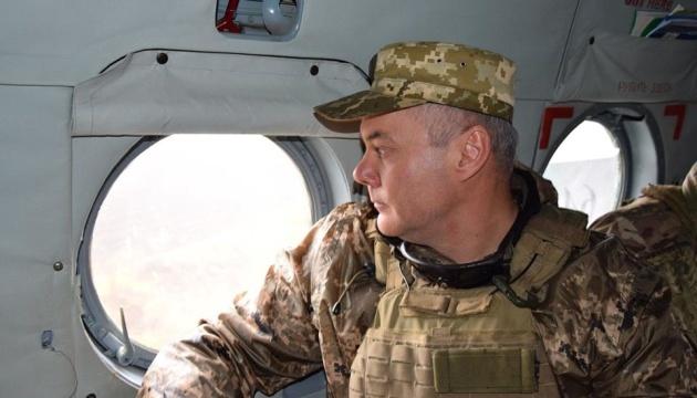 """El comandante de las Fuerzas Conjuntas no descarta los intentos de Rusia de establecer un """"corredor"""" hacia Crimea"""