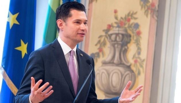 Ukrainian ambassador, Burgtheater director discuss projects during Year of Ukrainian Culture in Austria