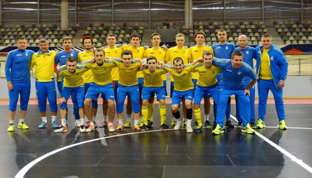 Футзал: сборная Украины во Франции готовится к товарищеским матчам