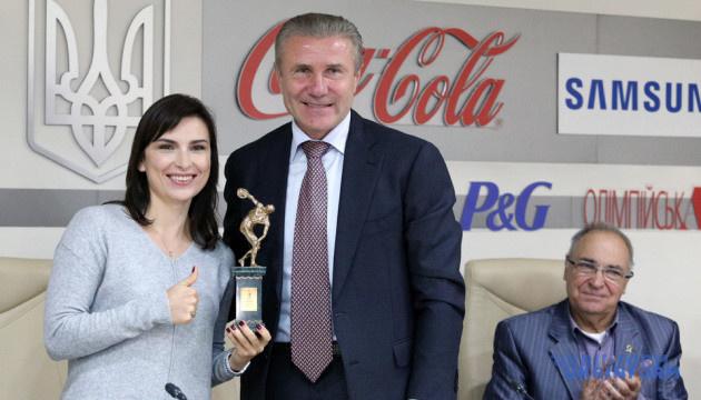 Елена Костевич получила пятую награду НОК лучшей спортсменки месяца в Украине