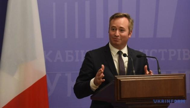 Klimkine a coordonné avec le ministère français des Affaires étrangères son interaction au sein du G7