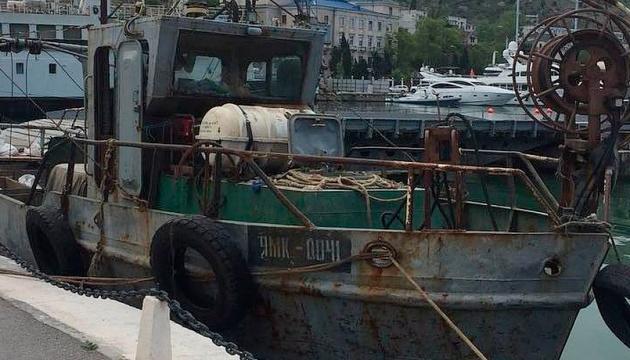 Капитана и двух моряков задержанного в Крыму украинского судна выпустили из СИЗО