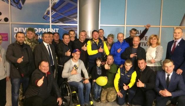 Победителей Invictus Games встретили во Львове