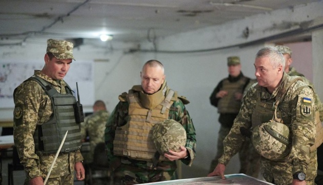 Начальник Головного штабу армії Молдови відвідав зону ООС