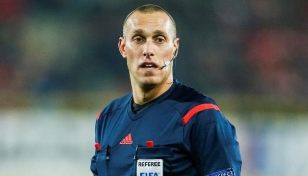 Товарищеский футбольный матч Украина - Турция будут судить арбитры из Чехии