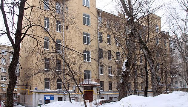 Москва. Будинок, в якому мешкав Лесь Курбас перед арештом. Сучасний вигляд // Фото: Марія Олендська