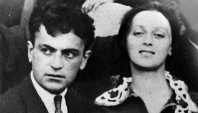 Сандро Ахметелі та Веріко Анджапарідзе. Приблизно 1920 рік // Фото: Національна парламентська бібліотека Грузії