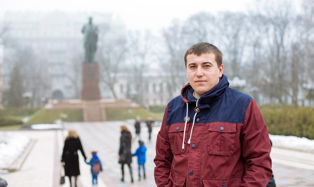 Роман Сініцин // Фото: Українська правда