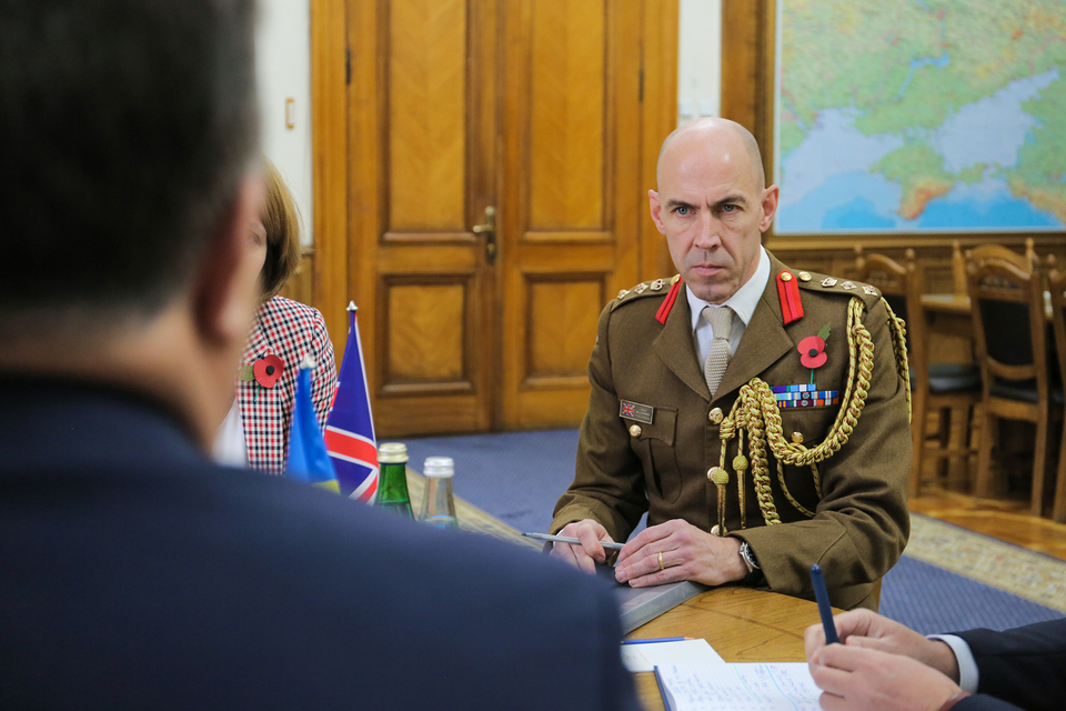 Ukrainian defense minister, UK ambassador discuss ...