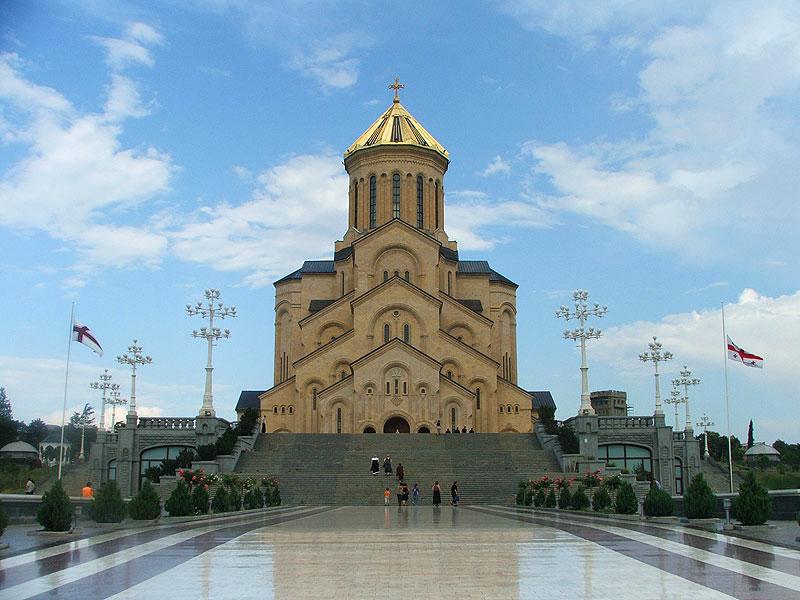 Троїцький кафедральний собор, Тбілісі. Фото: wikipedia