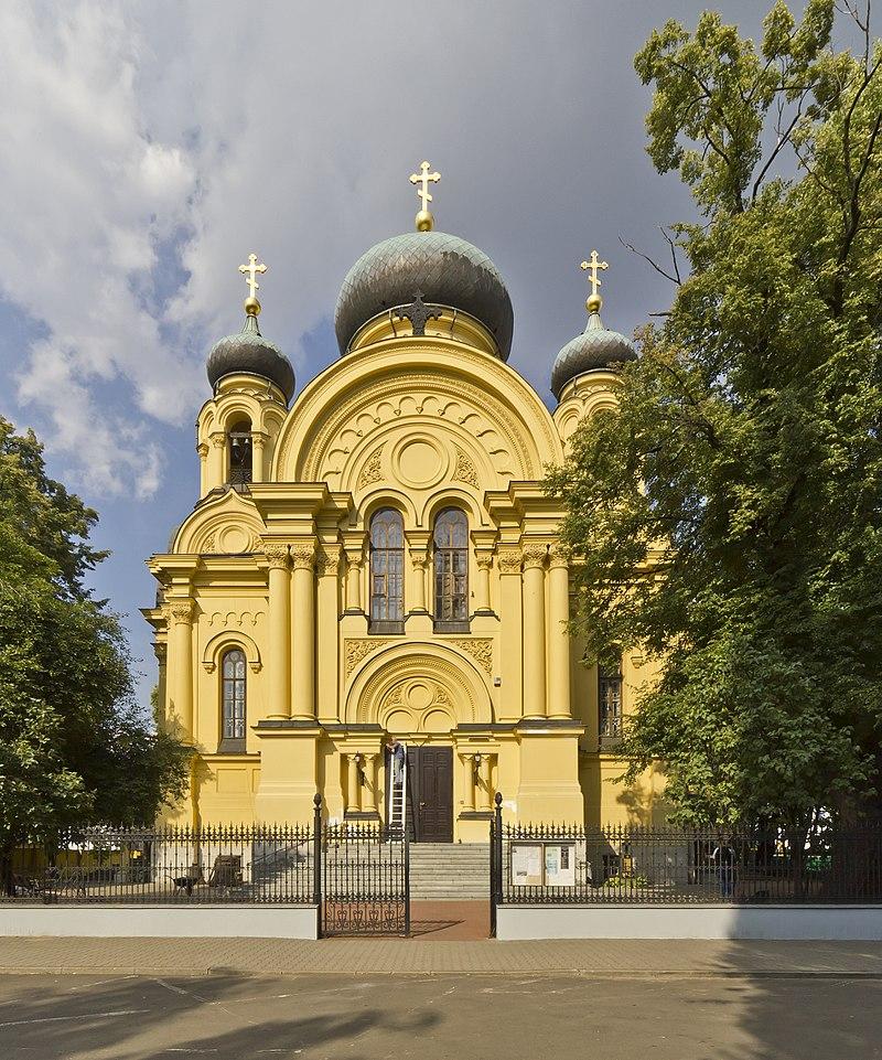 Кафедральний собор Святої Марії Магдалини у Варшаві. Фото: wikipedia