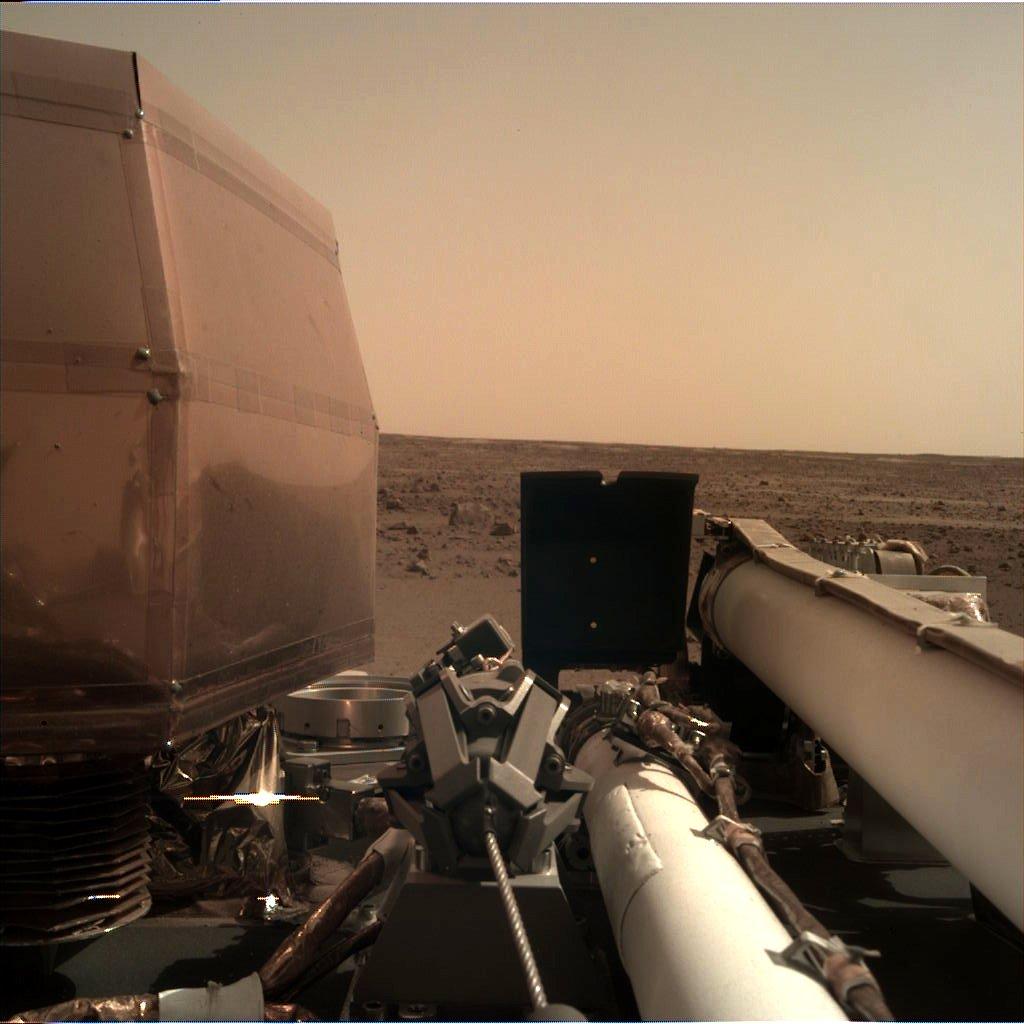 Знімок з космічного апарату InSight //Фото: NASA