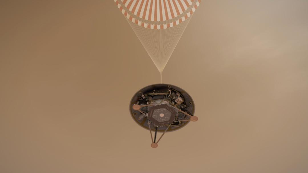Космічний парата InSight // Фото: NASA