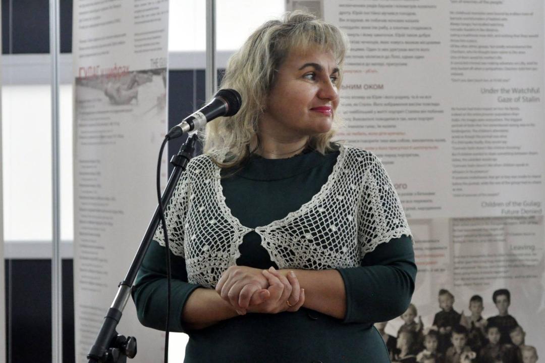 Леся Онишко, вчений секретар Національного музею Революції Гідності