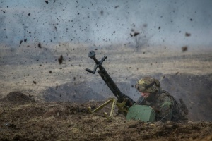 Donbass: 10 militaires ukrainiens blessés