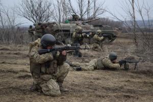 Donbass : 16 attaques ennemies, un militaire ukrainien blessé
