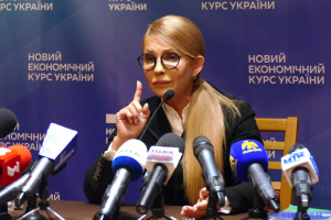 Tymoshenko submits documents to CEC