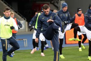На Евро-2020 сборная Украины будет тренироваться в городе Волунтари