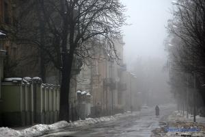 Зима піде з України з туманами та легким морозцем